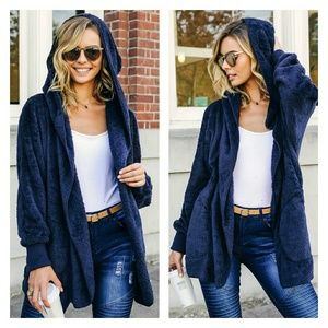 🆕 Navy sherpa jacket